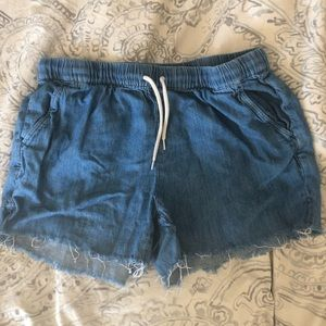 Madewell pull on shorts medium
